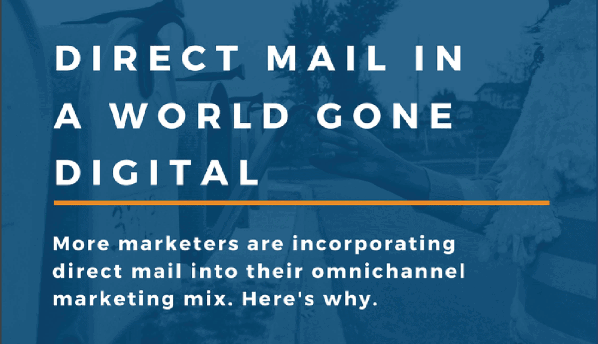 Direct Mail in a World Gone Digital (Infographic)