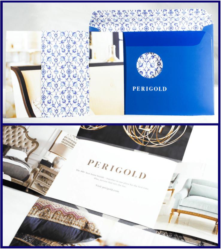 Perigold Brand Launch Direct Mail Campaign