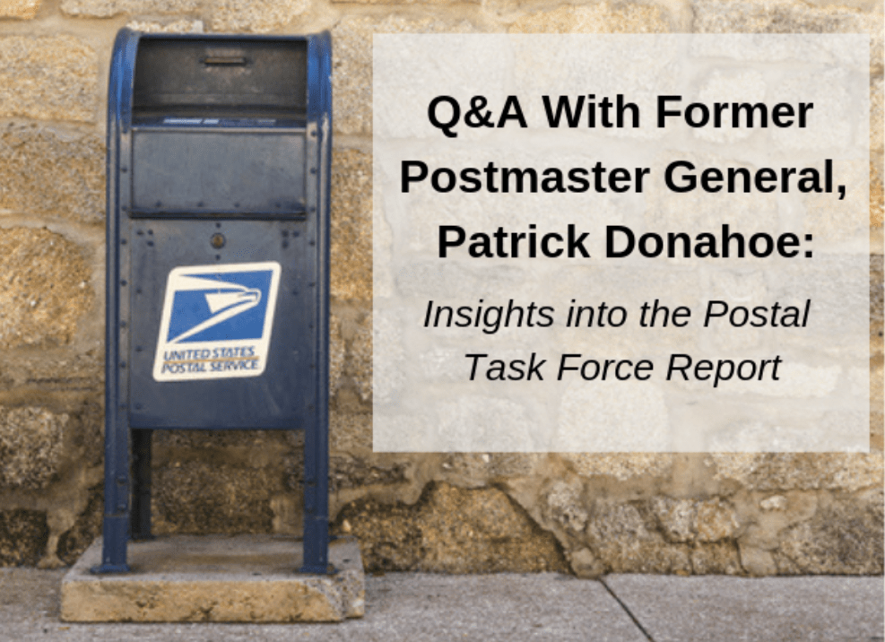 Q&A with Former Postmaster General