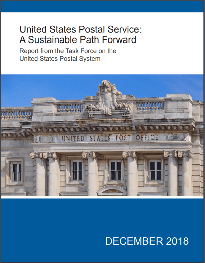 USPS Task Force Report Cover Image