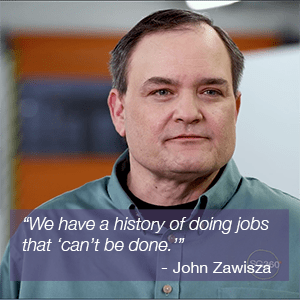 John Zawisza headshot and quote