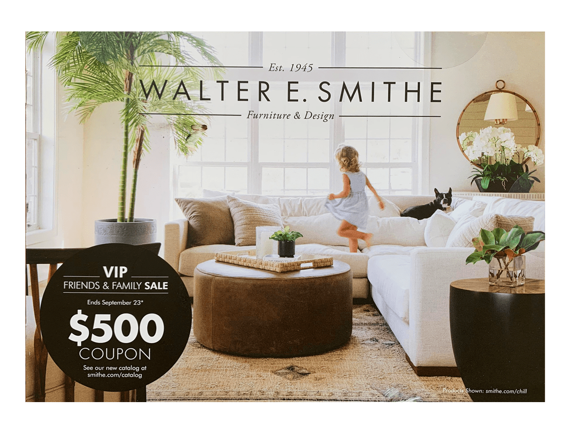 Walter E. Smith direct mail design front